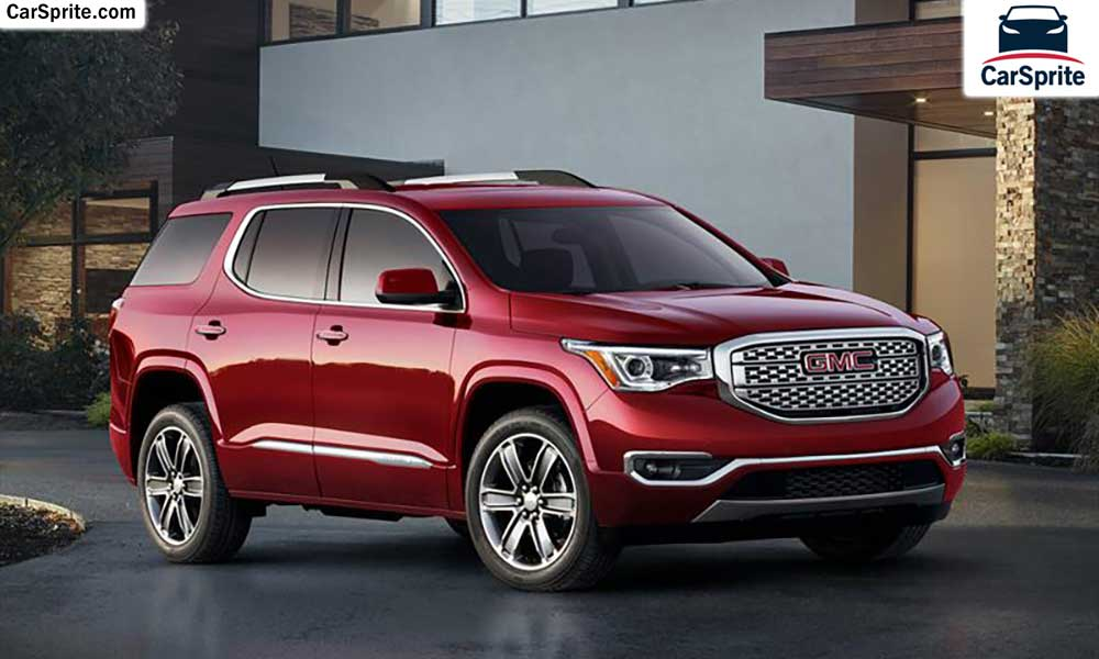 Gmc Acadia Denali 2017 Prices And Specifications In Uae