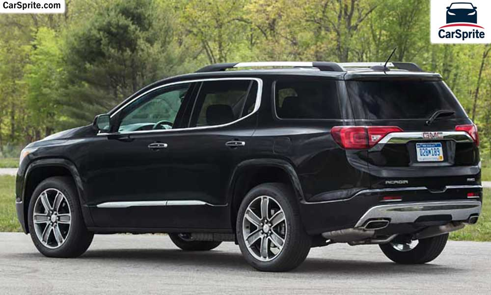 gmc acadia denali 2017 prices and specifications in uae car sprite. Black Bedroom Furniture Sets. Home Design Ideas