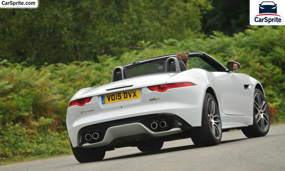 jaguar f type convertible 2017 prices and specifications in uae car sprite. Black Bedroom Furniture Sets. Home Design Ideas