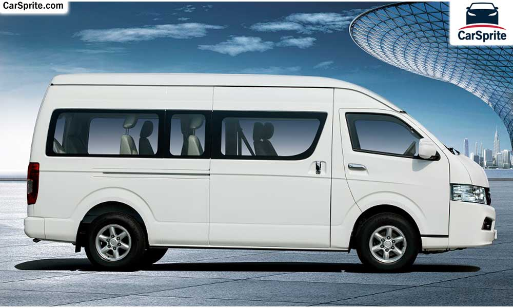king long wide body passenger van 2017 prices and specifications in uae car sprite. Black Bedroom Furniture Sets. Home Design Ideas