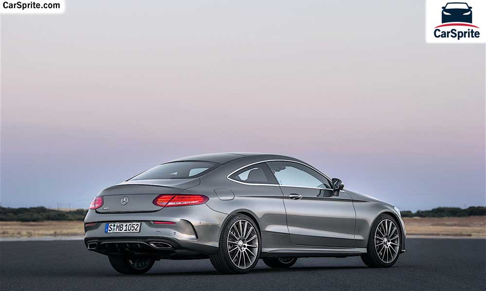 mercedes benz c class coupe 2017 prices and specifications