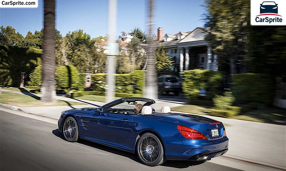 Mercedes benz sl class 2017 prices and specifications in for Mercedes benz dubai price