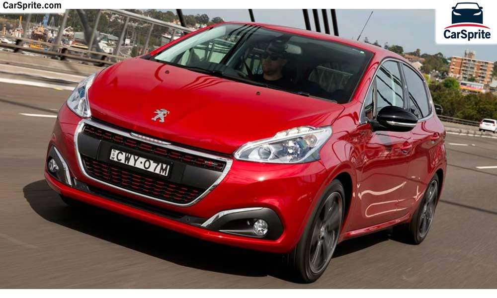 peugeot 208 2017 prices and specifications in uae car sprite. Black Bedroom Furniture Sets. Home Design Ideas