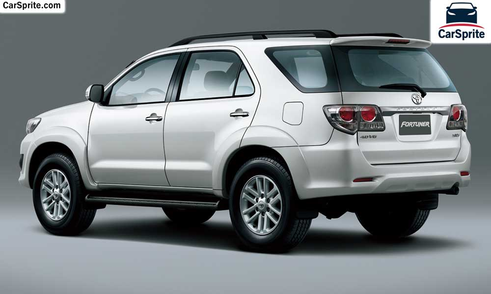 Toyota Fortuner 2017 Prices And Specifications In Uae