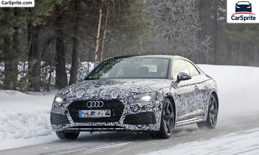 Audi RS5 Coupe 2018 prices and specifications in UAE | Car Sprite