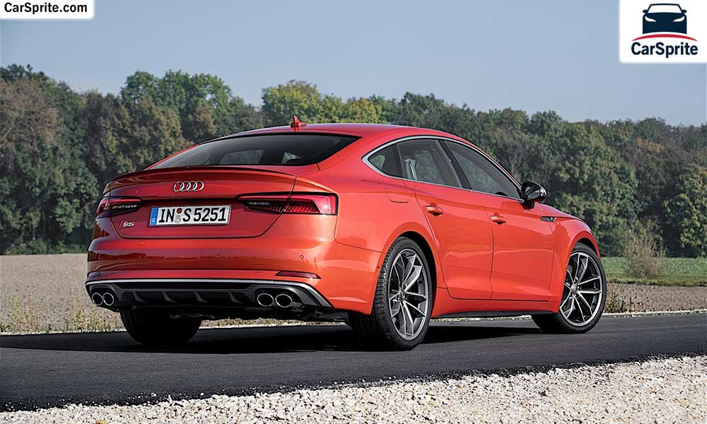 Audi S5 Sportback 2019 prices and specifications in UAE | Car Sprite