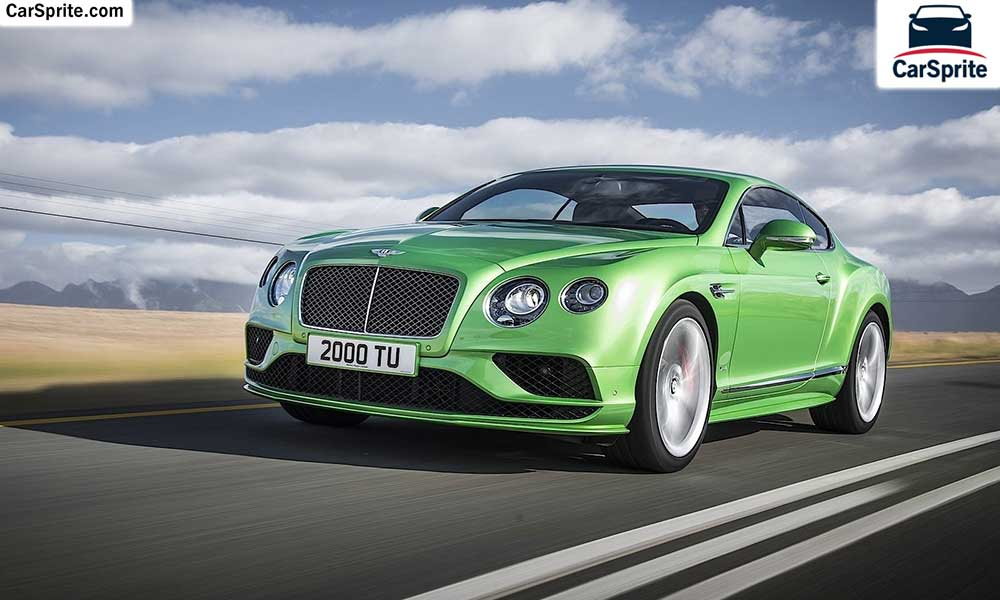 Bentley Continental GT 2018 prices and specifications in UAE | Car Sprite