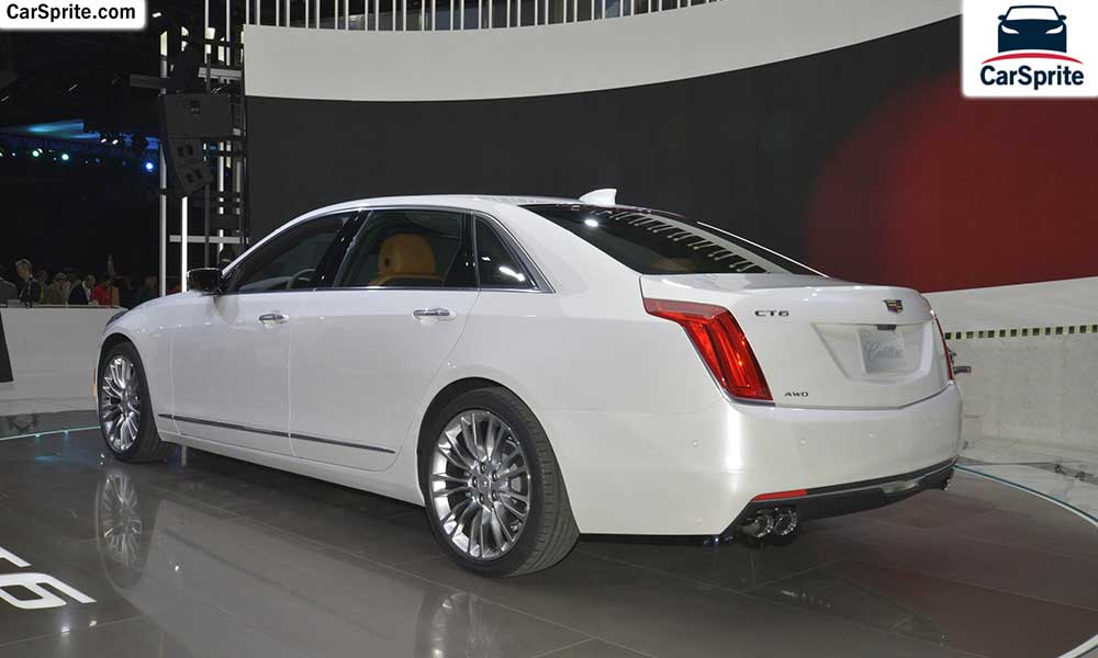 Cadillac CT6 Sedan 2017 prices and specifications in UAE ...