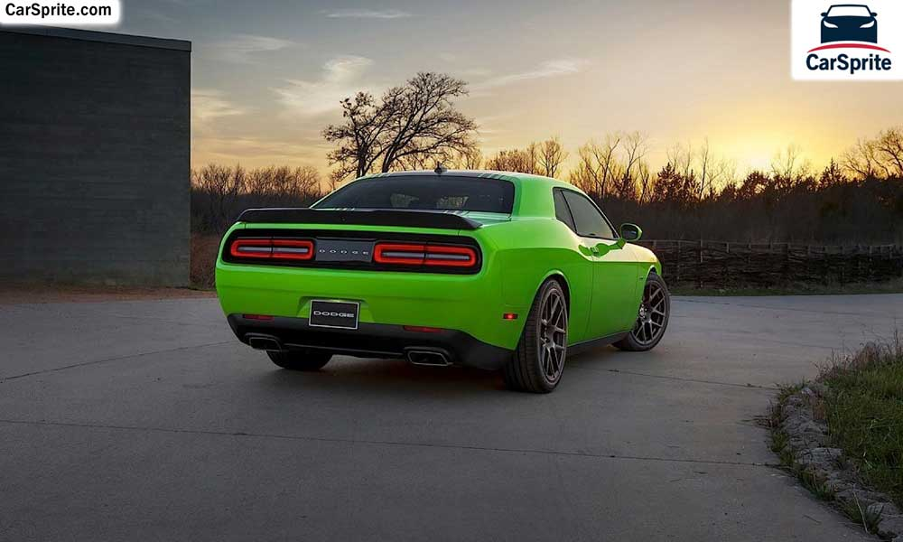 Dodge Challenger 2018 prices and specifications in UAE | Car Sprite