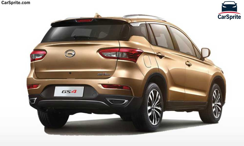 GAC GS4 2018 prices and specifications in UAE | Car Sprite