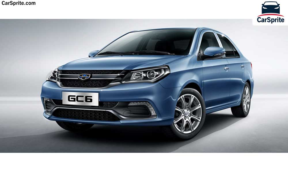 Geely GC6 2019 prices and spec...