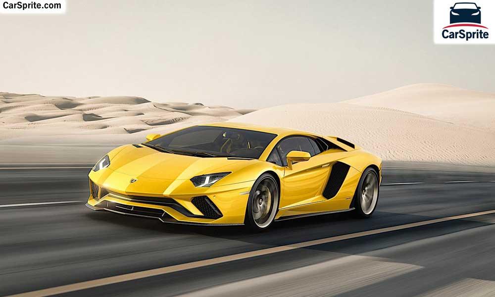 Lamborghini Aventador S 2018 Prices And Specifications In Uae Car