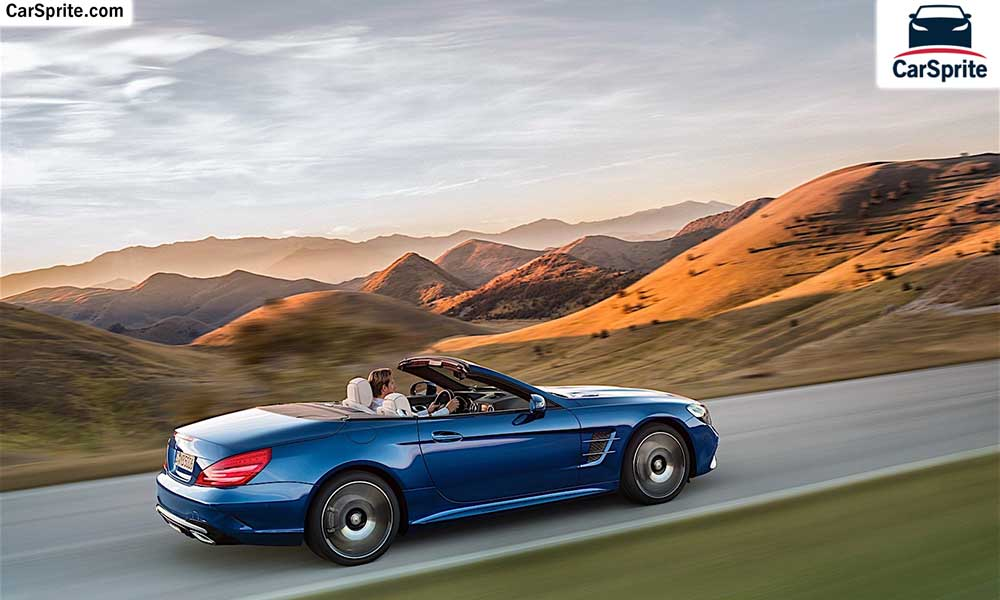 Mercedes benz sl class 2018 prices and specifications in for Mercedes benz dubai price