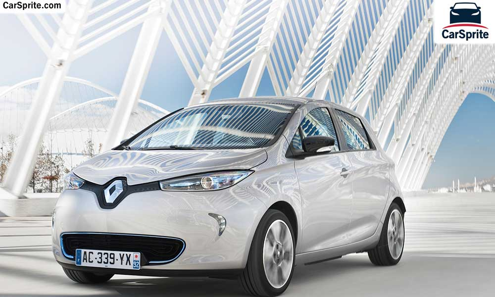 Renault Zoe 2018 prices and specifications in UAE | Car Sprite