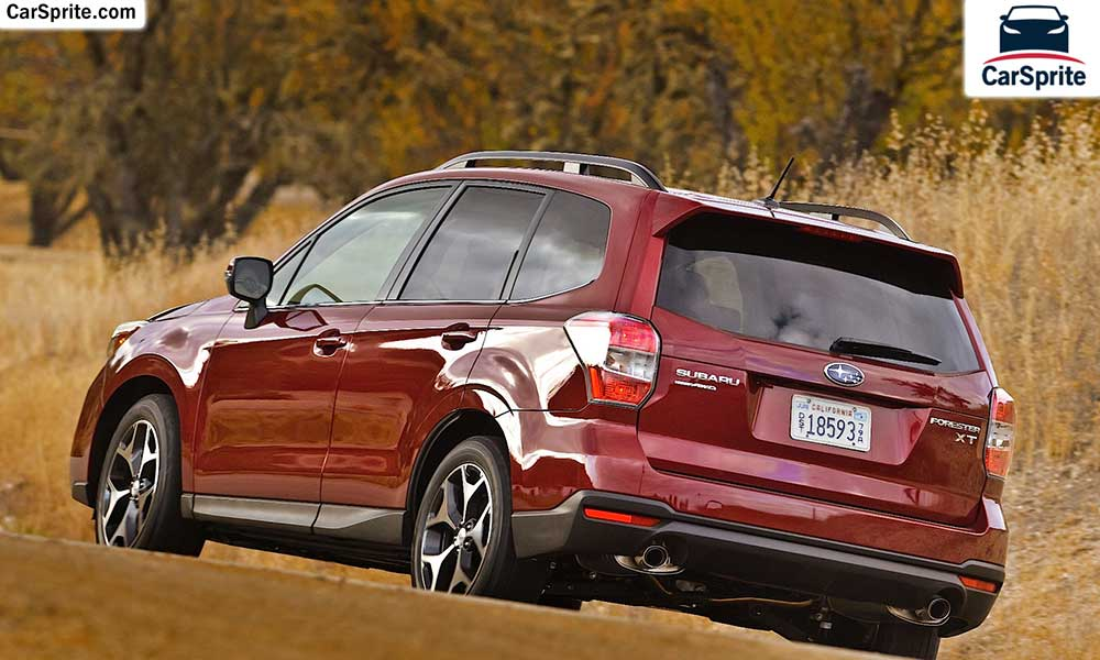Subaru Forester 2019 prices and specifications in UAE | Car Sprite