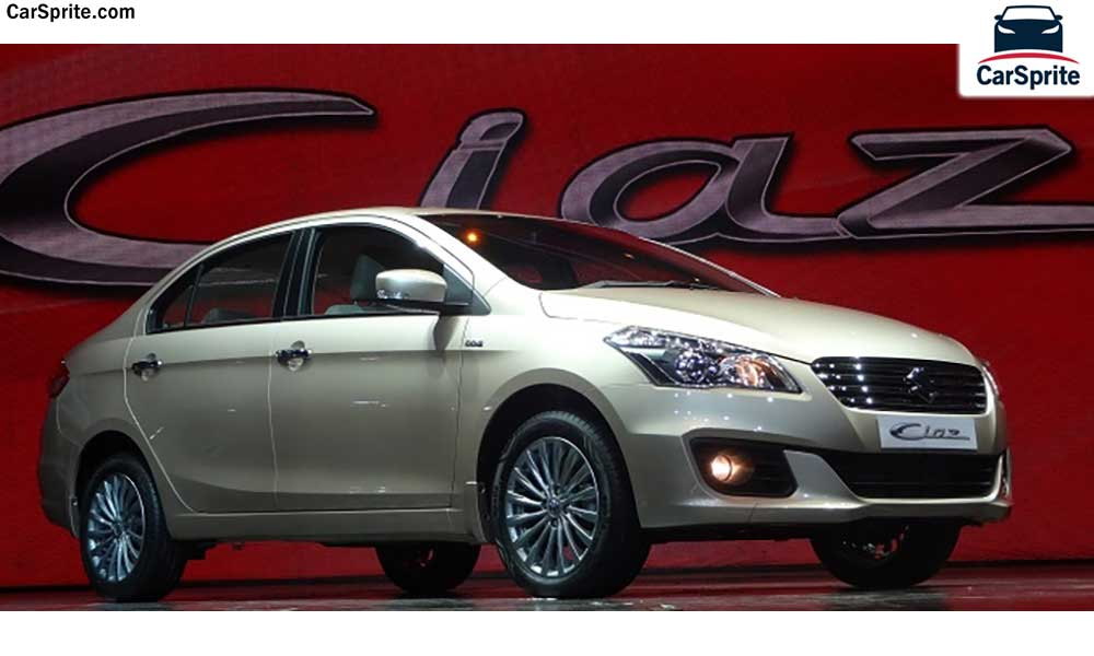 Suzuki Ciaz 2018 Prices And Specifications In Uae Car Sprite