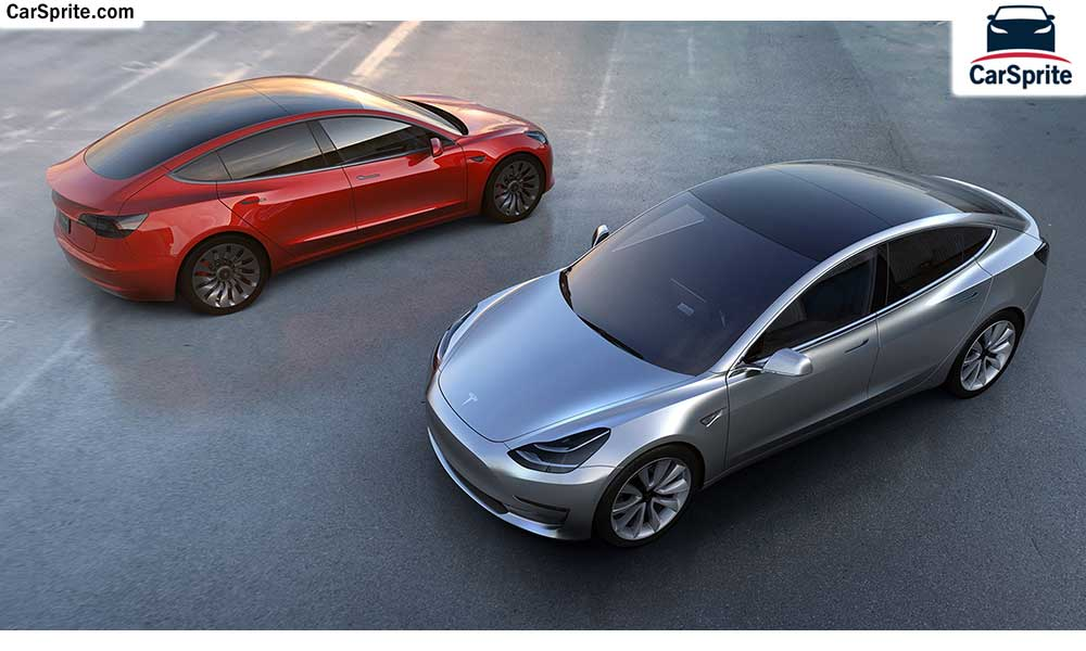 Tesla Model 3 2018 prices and specifications in UAE | Car Sprite