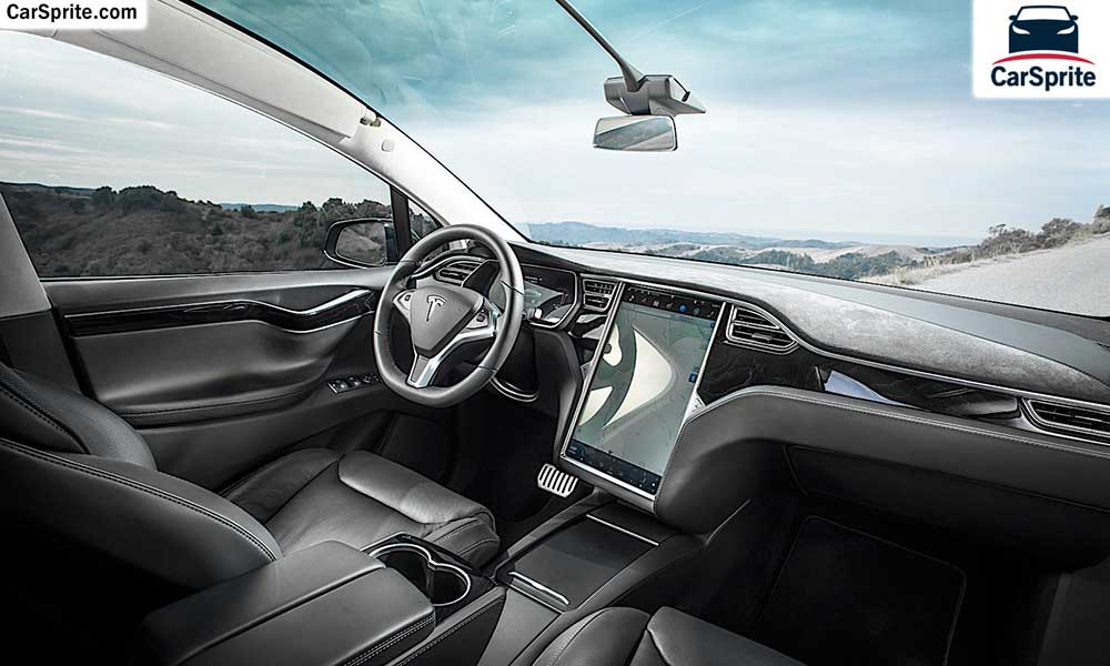 Tesla Model X 2019 prices and specifications in UAE | Car Sprite