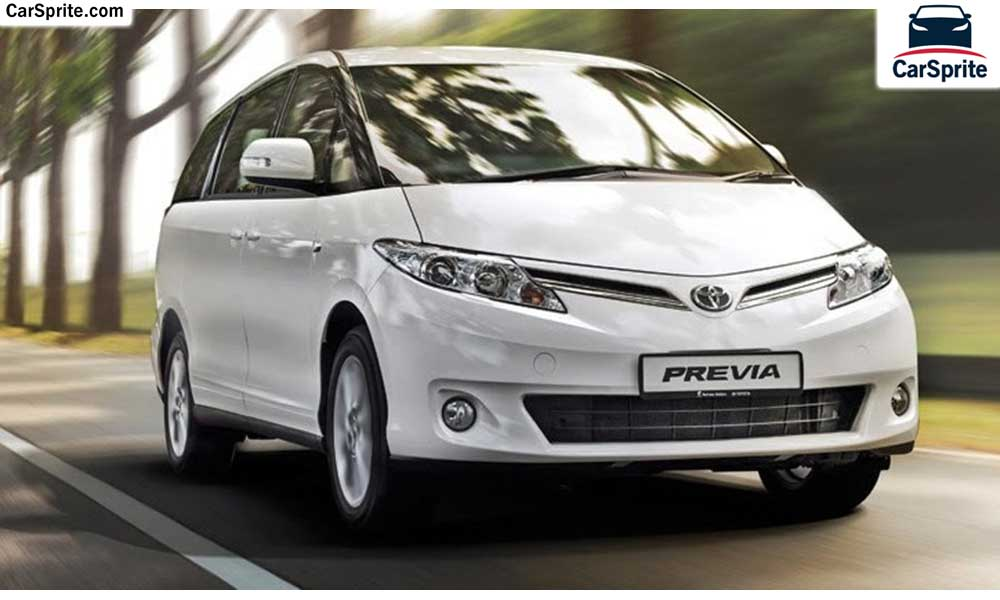 Toyota Previa 2018 prices and specifications in UAE | Car Sprite