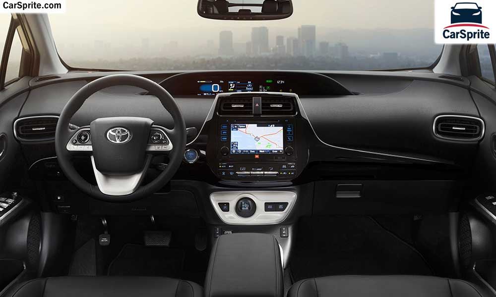 Toyota Prius 2019 prices and specifications in UAE | Car Sprite
