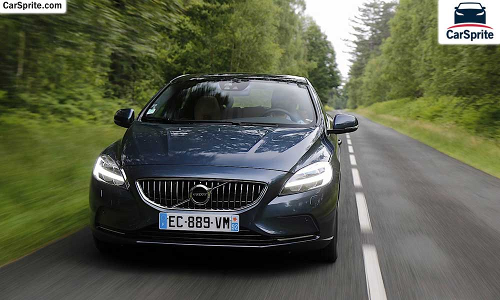 Volvo V40 2019 prices and specifications in UAE | Car Sprite