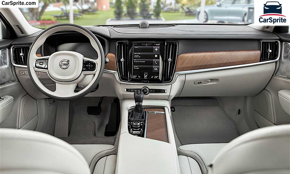 Volvo V90 2019 prices and specifications in UAE | Car Sprite
