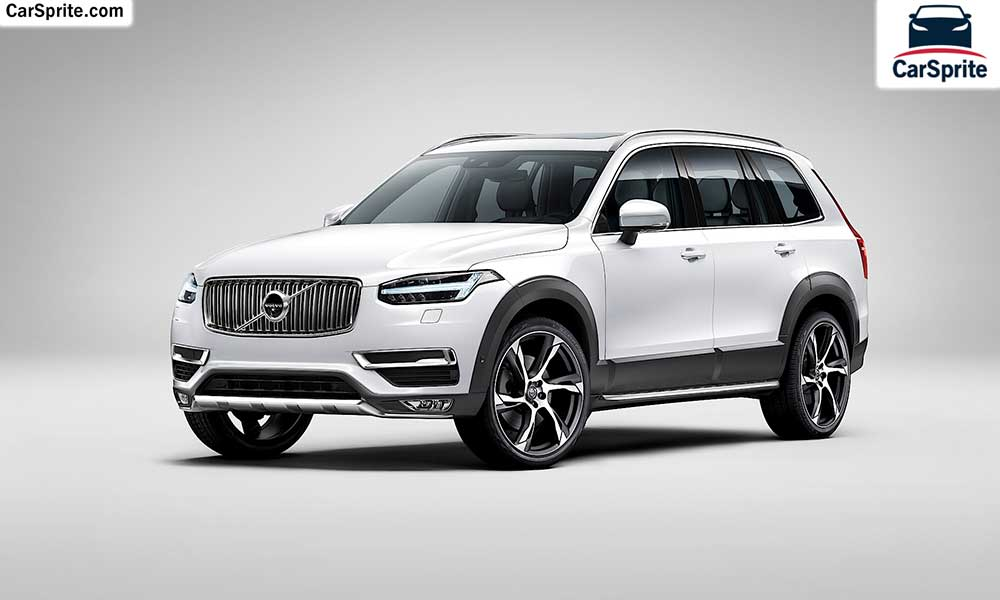 Volvo XC90 2019 prices and specifications in UAE | Car Sprite