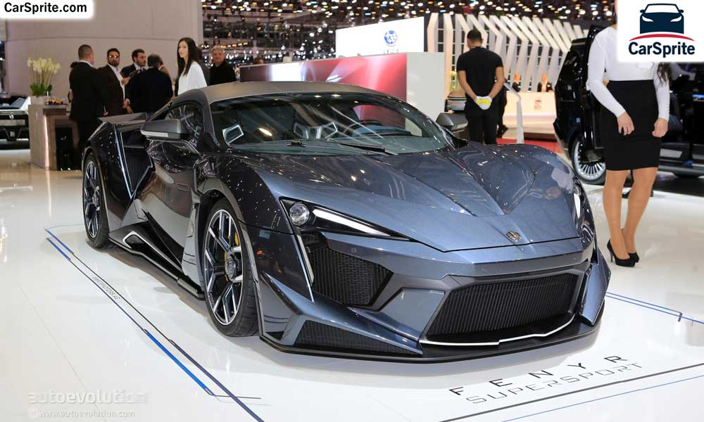W Motors Fenyr SuperSport 2019 prices and specifications in UAE | Car Sprite
