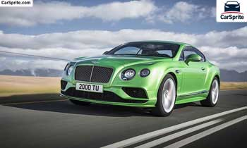 Bentley Continental GT 2019 prices and specifications in UAE | Car Sprite