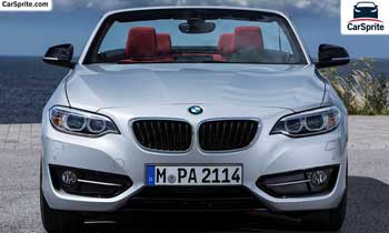 BMW 2 Series Convertible 2019 prices and specifications in UAE | Car Sprite
