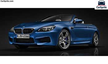 BMW M6 Convertible 2019 prices and specifications in UAE | Car Sprite