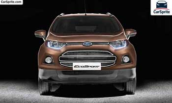 Ford EcoSport 2019 prices and specifications in UAE | Car Sprite