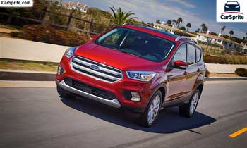 Ford Escape 2019 prices and specifications in UAE | Car Sprite