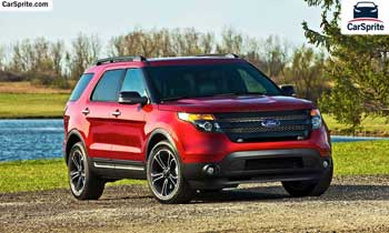 Ford Explorer 2019 prices and specifications in UAE | Car Sprite