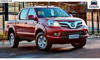 Foton Tunland 2017 prices and specifications in UAE | Car Sprite