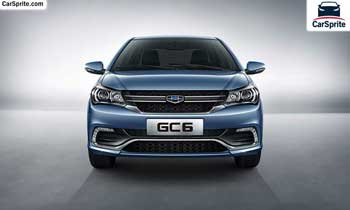 Geely GC6 2019 prices and specifications in UAE | Car Sprite