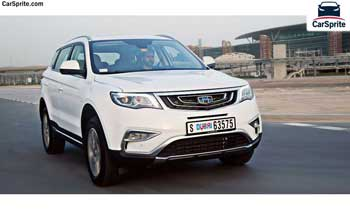 Geely X7 Sport 2018 prices and specifications in UAE | Car Sprite