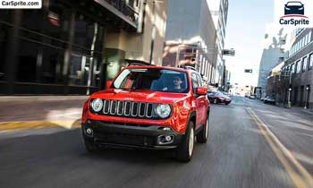 Jeep Renegade 2018 prices and specifications in UAE | Car Sprite