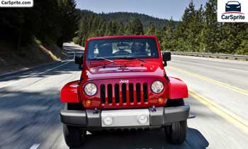 Jeep Wrangler Unlimited 2018 prices and specifications in UAE | Car Sprite