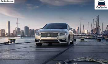 Lincoln Continental 2019 prices and specifications in UAE | Car Sprite