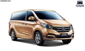 Maxus G10 7-Seater 2019 prices and specifications in UAE | Car Sprite
