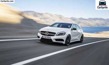 Mercedes Benz A 45 AMG 2019 prices and specifications in UAE | Car Sprite