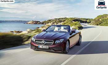 Mercedes Benz E-Class Cabriolet 2019 prices and specifications in UAE | Car Sprite