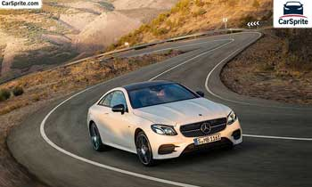 Mercedes Benz E-Class Coupe 2019 prices and specifications in UAE | Car Sprite