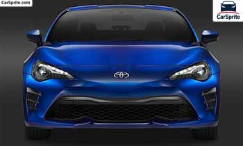Toyota 86 2019 prices and specifications in UAE | Car Sprite