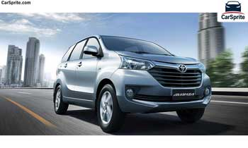 Toyota Avanza 2019 prices and specifications in UAE | Car Sprite
