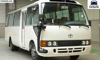 Toyota Coaster 2019 prices and specifications in UAE | Car Sprite