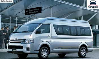 Toyota Hiace 2019 prices and specifications in UAE | Car Sprite