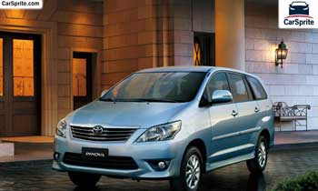 Toyota Innova 2019 prices and specifications in UAE | Car Sprite