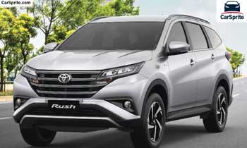 Toyota Rush 2019 prices and specifications in UAE | Car Sprite